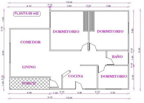 Planos de una casa ver