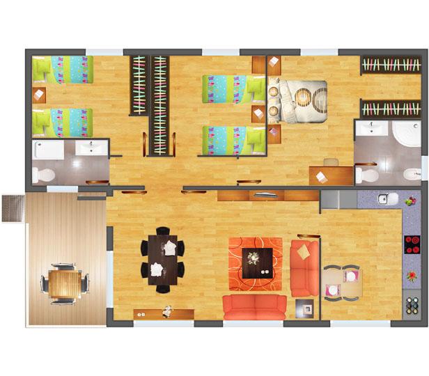 Planos una casa
