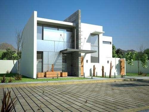 Casas minimalistas for Viviendas estilo minimalista