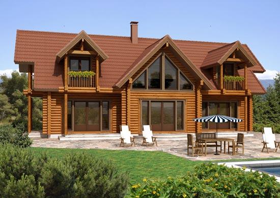 Fachadas casas - Ver casas de madera ...