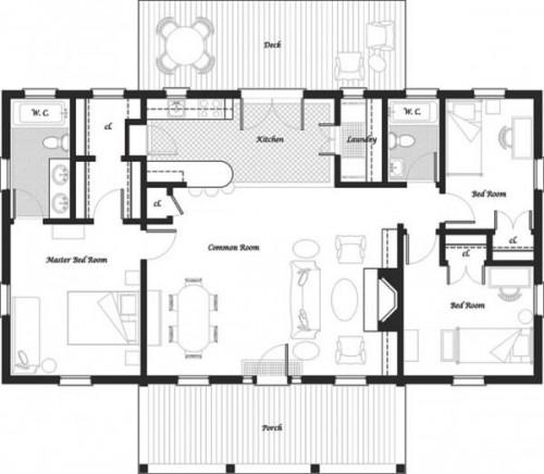 Planos casas for Planos y disenos de casas gratis