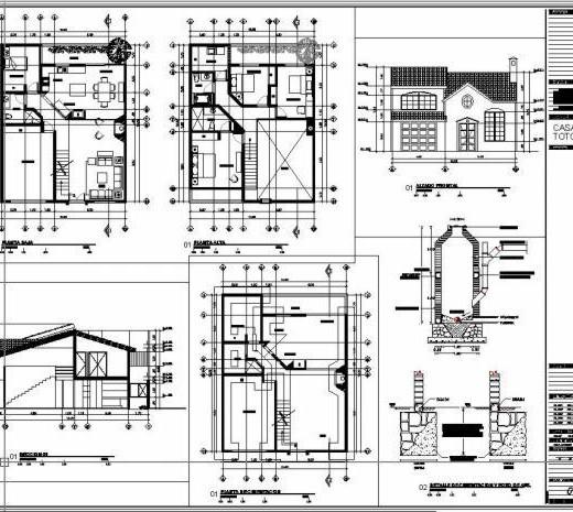 Interpretacion de planos for Programa para hacer planos arquitectonicos