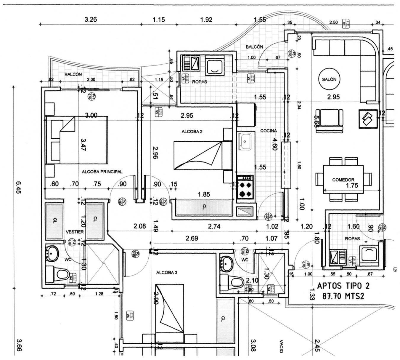Planos arquitect nicos for Imagenes de planos de casas